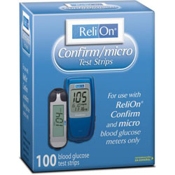relion confirm micro test strips